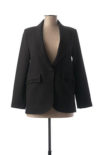 Veste chic / Blazer noir CHARMING GIRL pour femme
