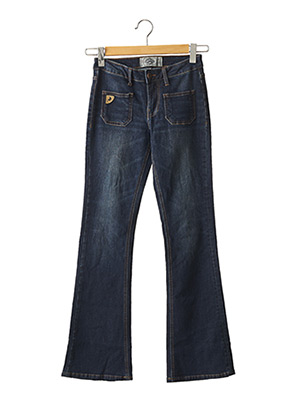 Jeans bootcut bleu LOIS pour femme