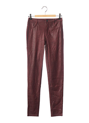 Jegging rouge TEDDY SMITH pour femme
