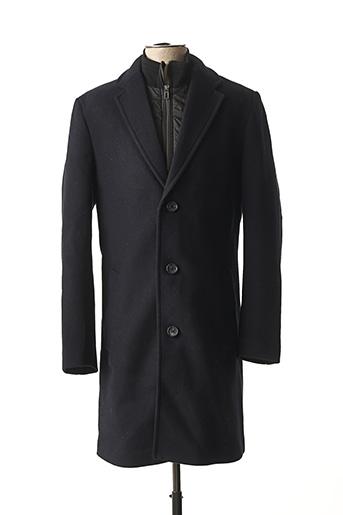 Manteau long bleu TOM TAILOR pour homme