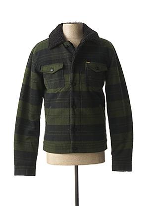 Veste casual vert WRANGLER pour homme