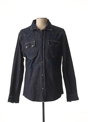 Veste en jean bleu FREEMAN T.PORTER pour homme