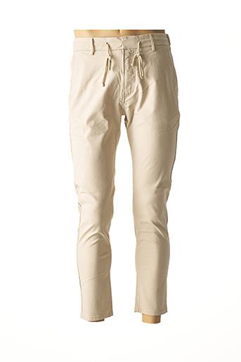 Pantalon casual beige SALSA pour homme
