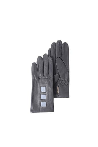 Gants gris ANDRE POUJADE pour femme