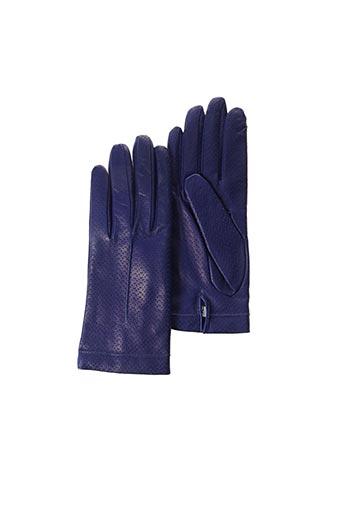 Gants bleu BUSCARLET pour femme
