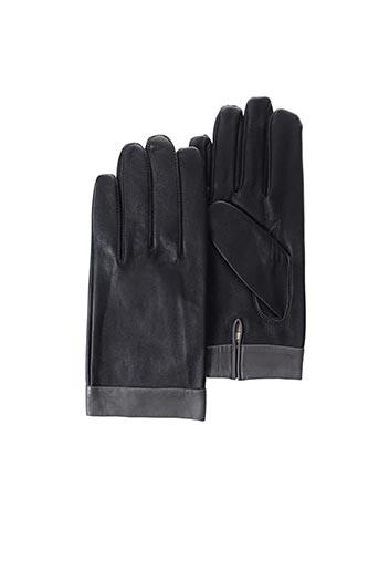 Gants noir ANDRE POUJADE pour homme