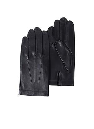 Gants noir AGNELLE pour homme