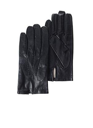 Gants noir GLOVE STORY pour homme