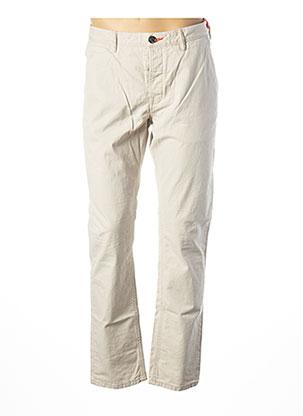 Pantalon casual beige SUPERDRY pour homme