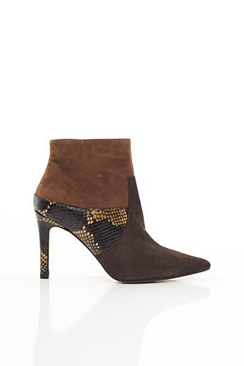 Bottines/Boots marron LODI pour femme