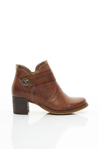 Bottines/Boots marron CASTA pour femme