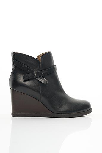 Bottines/Boots noir ALBERTO FERMANI pour femme