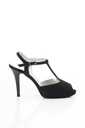 Sandales/Nu pieds noir NERO GIARDINI pour femme
