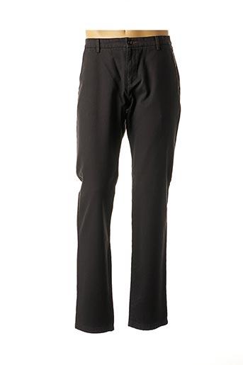 Pantalon casual noir BUGATTI pour homme