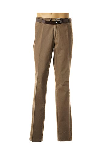 Pantalon casual vert LUIGI MORINI pour homme