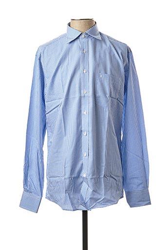 Chemise manches longues bleu BEN GREEN pour homme