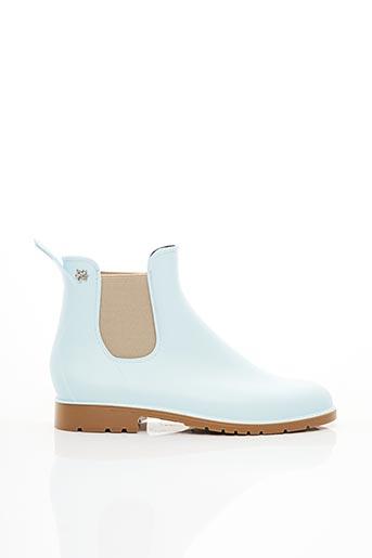 Bottines/Boots bleu MEDUSE pour femme
