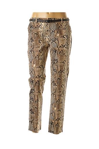 Pantalon chic beige BEST MOUNTAIN pour femme