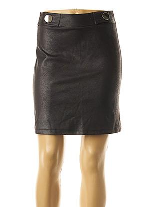 Jupe courte marron AMELIE & AMELIE pour femme