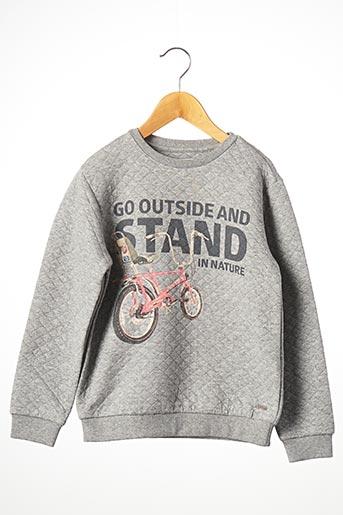 Sweat-shirt gris MAYORAL pour garçon