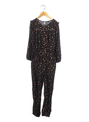 Combi-pantalon noir 3 POMMES pour fille