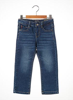 Jeans coupe droite bleu MAYORAL pour garçon