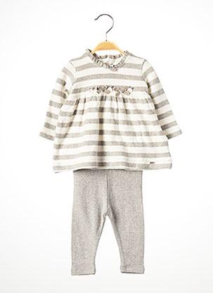 Top/pantalon gris MAYORAL pour fille