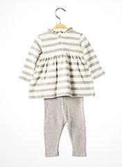 Top/pantalon gris MAYORAL pour fille seconde vue