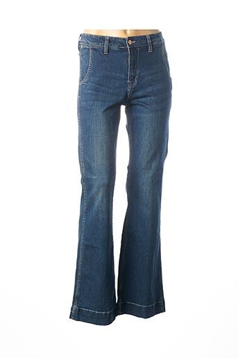 Jeans bootcut bleu LOIS pour homme