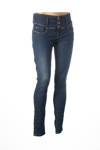 Pantalon casual bleu SALSA pour femme