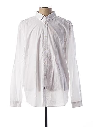 Chemise manches longues blanc SALSA pour homme