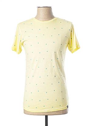 T-shirt manches courtes jaune SALSA pour homme