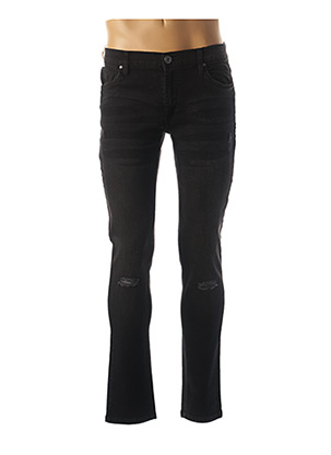 Jeans coupe slim noir HOPENLIFE pour homme