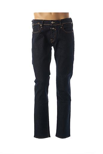 Jeans coupe droite bleu LE TEMPS DES CERISES pour homme