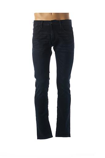 Jeans coupe slim bleu LE TEMPS DES CERISES pour homme