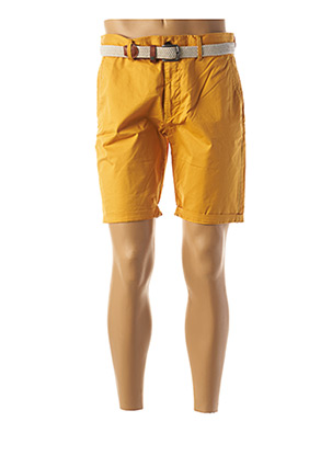 Bermuda jaune SALSA pour homme