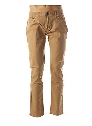 Pantalon casual beige HOPENLIFE pour homme