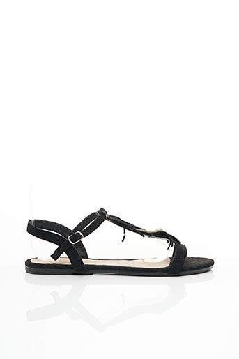 Sandales/Nu pieds noir ANOUSHKA pour femme
