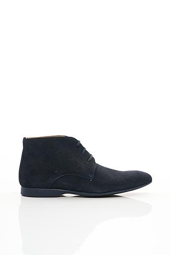Bottines/Boots bleu ALEXANDER BENNETT pour homme