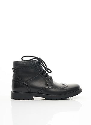 Bottines/Boots noir CLARKS pour homme