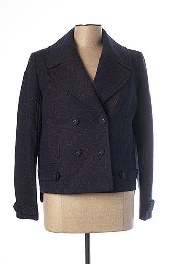 Manteau court bleu MADO ET LES AUTRES pour femme