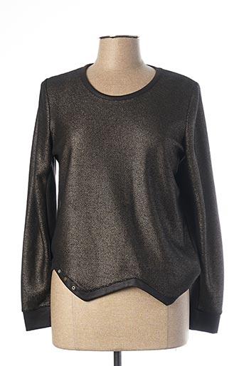 Sweat-shirt noir MADO ET LES AUTRES pour femme