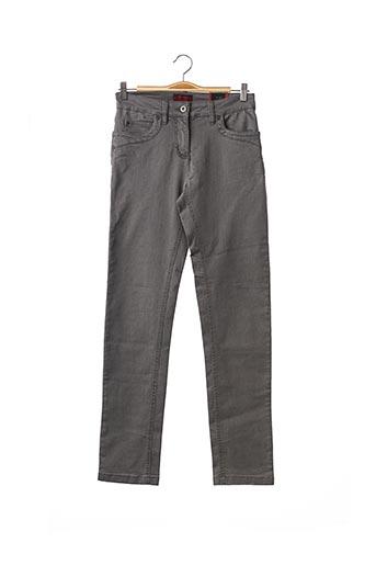 Pantalon casual gris BRANDTEX pour homme
