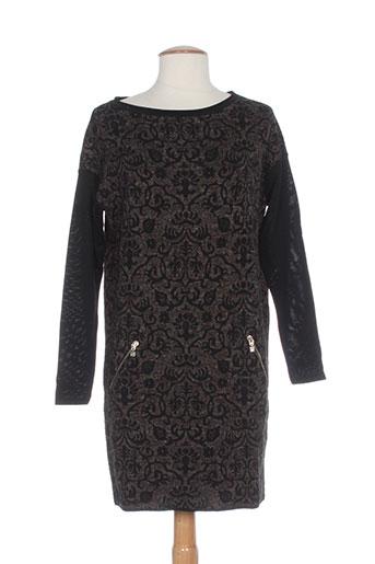 Robe pull noir D.EXTERIOR pour femme