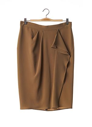 Jupe mi-longue vert MAXMARA pour femme