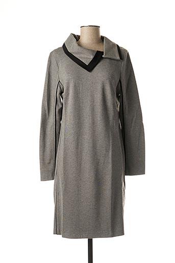 Robe mi-longue gris BUGARRI pour femme