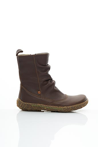 Bottines/Boots marron EL NATURALISTA pour femme