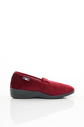 Chaussons/Pantoufles rouge LA VAGUE pour femme