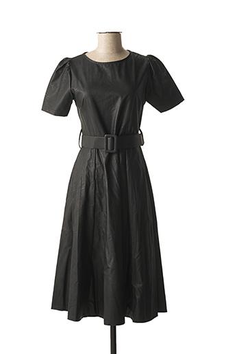 Robe mi-longue noir ATELIER JAD pour femme