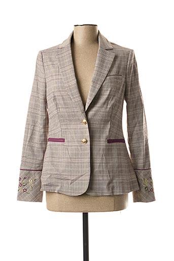 Veste chic / Blazer gris CHOKOLAT pour femme